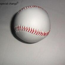 """1 шт 2,7"""" новая белая база мяч Бейсбол Практика Обучение Софтбол спорт командная игра"""