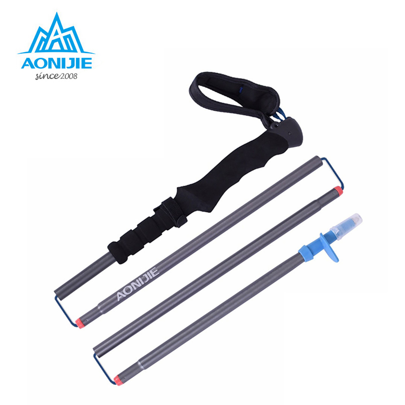Ultra-light EVA Straight Grip Handle Aluminum Alloy 4-Section Adjustable Canes Walking Hiking Sticks Trekking Pole E4063 good year ultra grip 8 купить украина