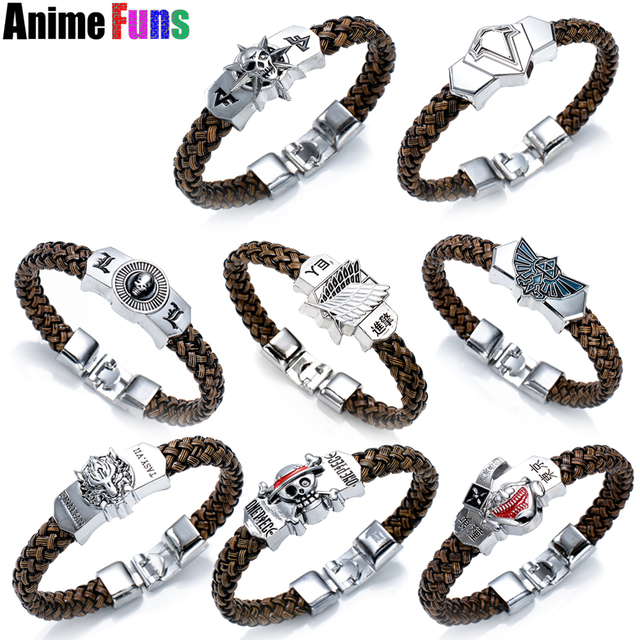 8 Types Anime Bracelet One Piece Tokyo Ghou On An The Legend Of Zelda