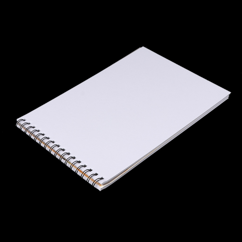 A4 Watercolor Paper Art Artist Sketchbook Sketch Pad Drawing Painting 24 Sheet Drop Shipping Support