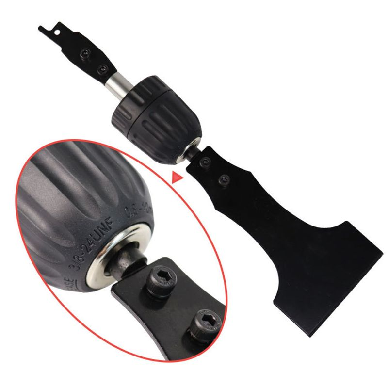 9.5mm Multi Round Handle Reciprocating Scraper Blade For Electric Saw Reciprocating Saw NEW