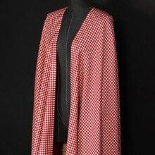 150 Cm Lebar 285 G m Berat Tipis Putih Merah Check Kain Wol untuk Musim  Gugur Musim Semi Jas Baju Jaket E834 1d5f26e34f