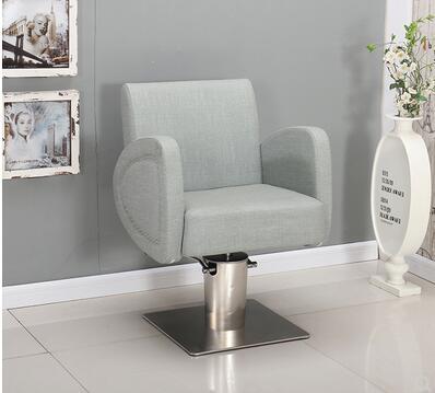Hair Salon Special Barber Chair Hair Chair Simple Hairdressing Shop Chair Can Lift Hair Chair High Grade Hairdressing Chair.