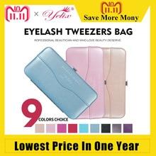 hot deal buy professional makeup tool storage box for eyelash extension tweezers bag beauty eyelashes tweezer case
