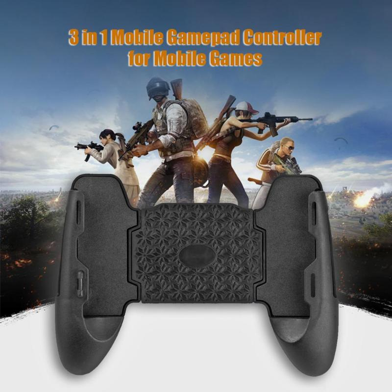 PUBG Artifact Mobile Controller Gamepads Joystick Trigger Phone Bracket Tools For PUBG Game Pad Android Iphone Gaming Accessory