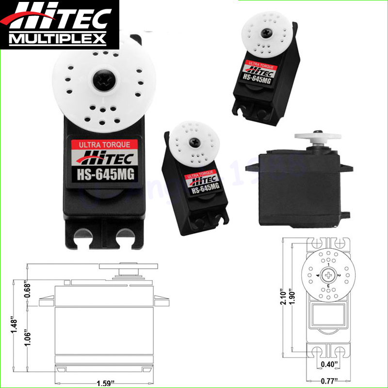 Original Hitec 645MG HS645 645 MG HS 645 HS 645MG Steering Servo