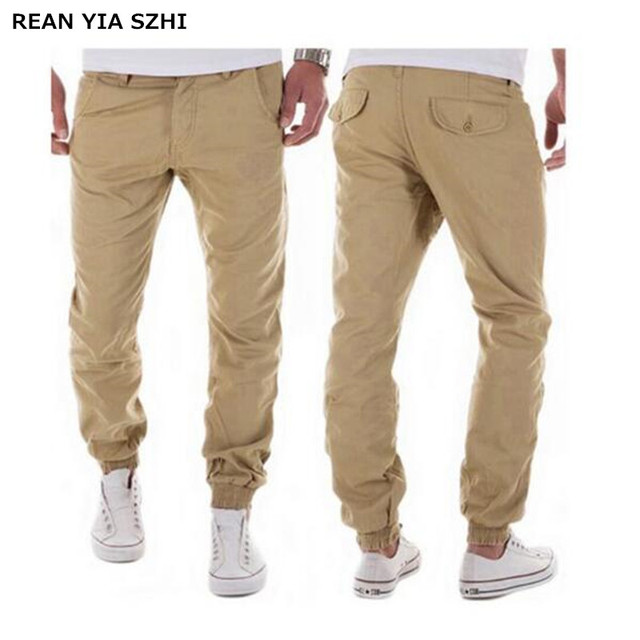 5295610eac5 Super Hot 2017 New Men s Trousers Cotton Casual Pants Fashion Men Pants  Classic Khaki Loose Type Five kinds of color