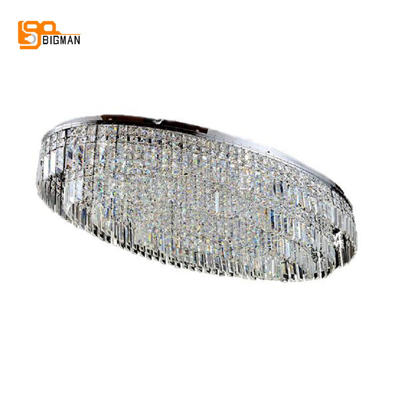 oval design large chandelier modern crystal lamp luxury 3 layers hotel crystal chandelier living room lights free shipping smoky grey fashion of luxury large crystal chandelier light living room lights modern crystal chandelier lighting