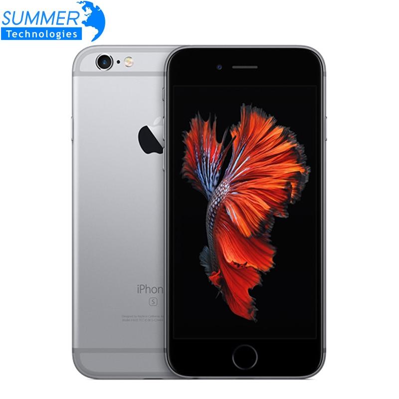 """Teléfonos móviles originales Apple iPhone 6 s Plus Dual Core 5,5 """"12MP 2G RAM 16/64G 128g ROM 4G LTE 3D touch"""
