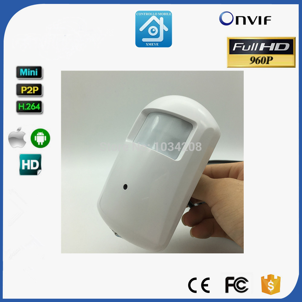 NEW 960P PIR Style Camera E-mail Alarm Systems Home Securveillance Security P2P CCTV IP Camera Onvif P2P Remote View