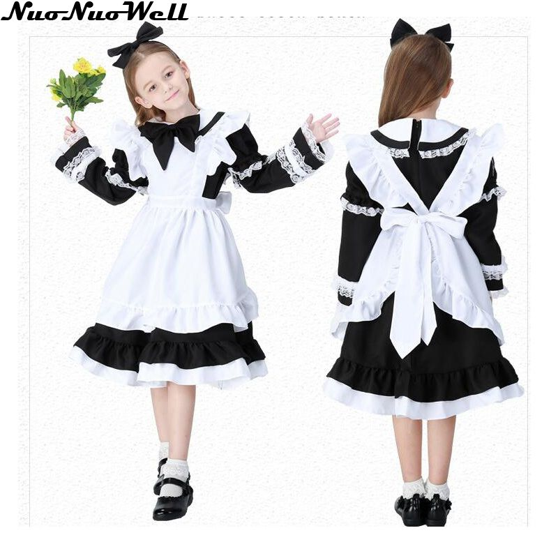 Halloween Sexy Lingeries Uniform Anime Cosplay Maid Uniform Girl Maid Outfit in Masquerade Carnival Party Performance Stage Show