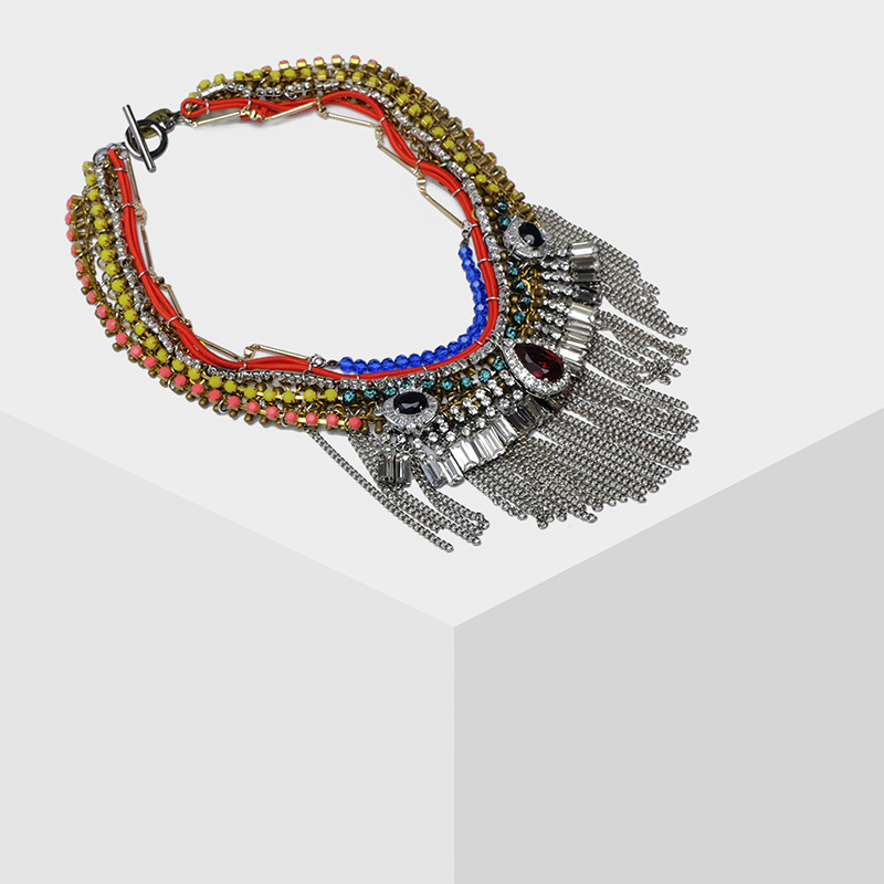 Amorita boutique Very simple ethnic style of the exaggerated necklace цена