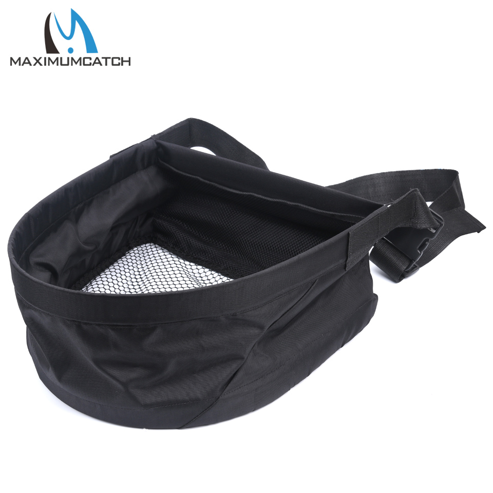Maximumcatch Line Casting Stripping Basket with Carry Bag for Fly Fishing