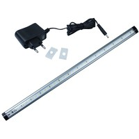 DC12V 50CM 5W Touch Sensor 39Leds Dimmable LED Cabinet Tube Light With Power Adapter Wall Lamp
