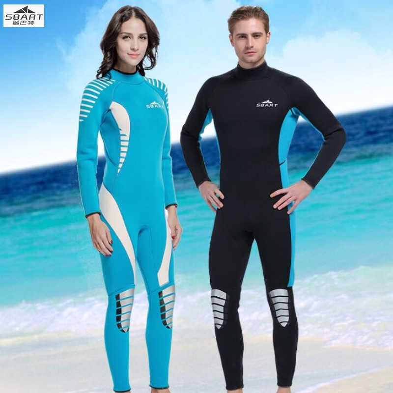 Sbart 1029-30 Scuba Diving Wetsuit Men 3mm Diving Suit Neoprene Swimming Wetsuit Surf Triathlon Wet Suit Swimsuit Full Bodysuit sbart 2mm neoprene wetsuit men winter keep warm swimming scuba diving wet suit long sleeve triathlon wetsuit for surf snorkeling