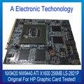 Testado Originais Placa Gráfica Para HP NX9420 NW9440 Placa de Vídeo ATI X1600 256 MB LS-2821P Funcionando Bem Grau AAA +