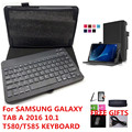 T580 Keyboard for Samsung Galaxy Tab A 2016 10.1 T580 T585 SM-T580 T585 Wireless Bluetooth Keyboard Language Layout Customize