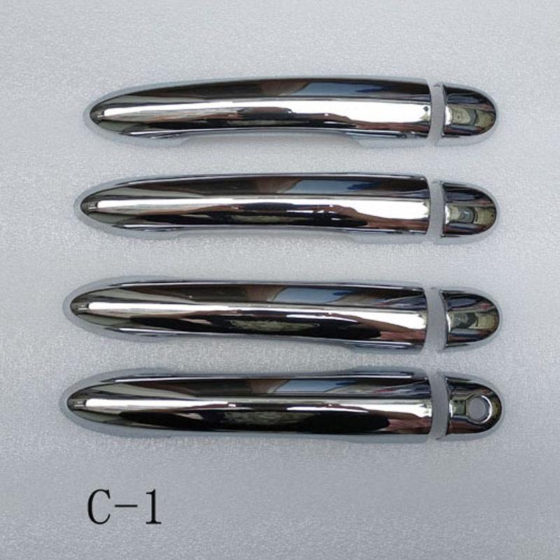 For Renault Clio 3 iii mk3 door handle cover handles covers plastic Chrome  accessories