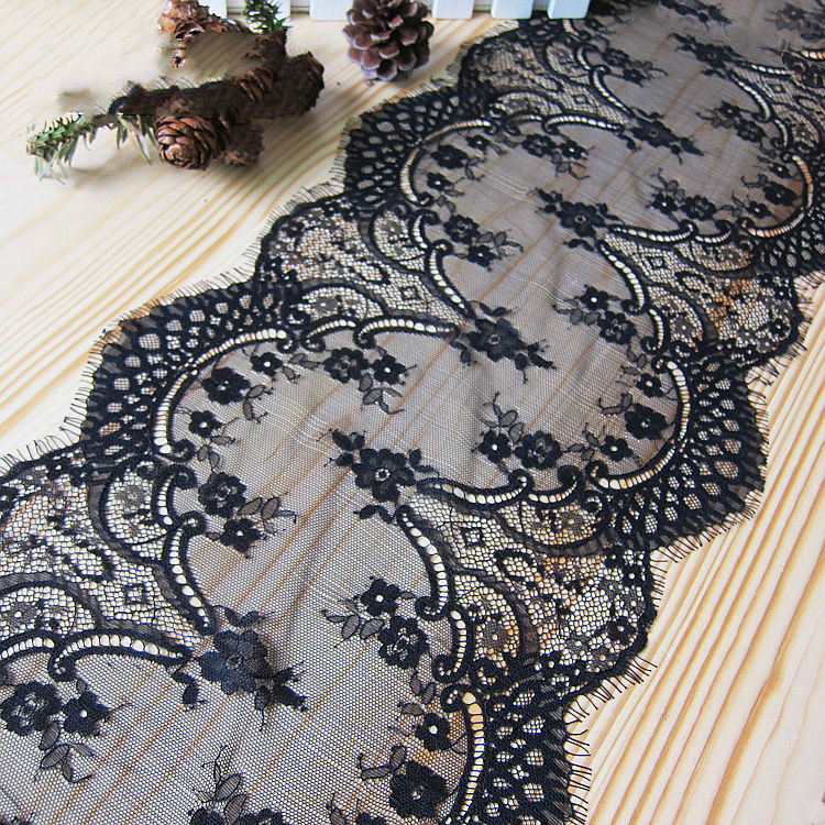 Eyelash Embroidery Lace Accessories Handmade DIY Clothes