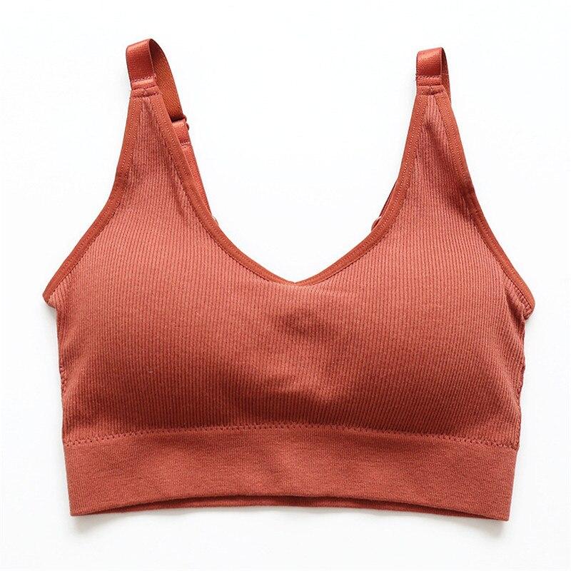 Summer Japanese underwear ladies Seamless Wireless shockproof anti light adjustment shoulder strap bra Women 39 s Push Up Bra white in Bras from Underwear amp Sleepwears