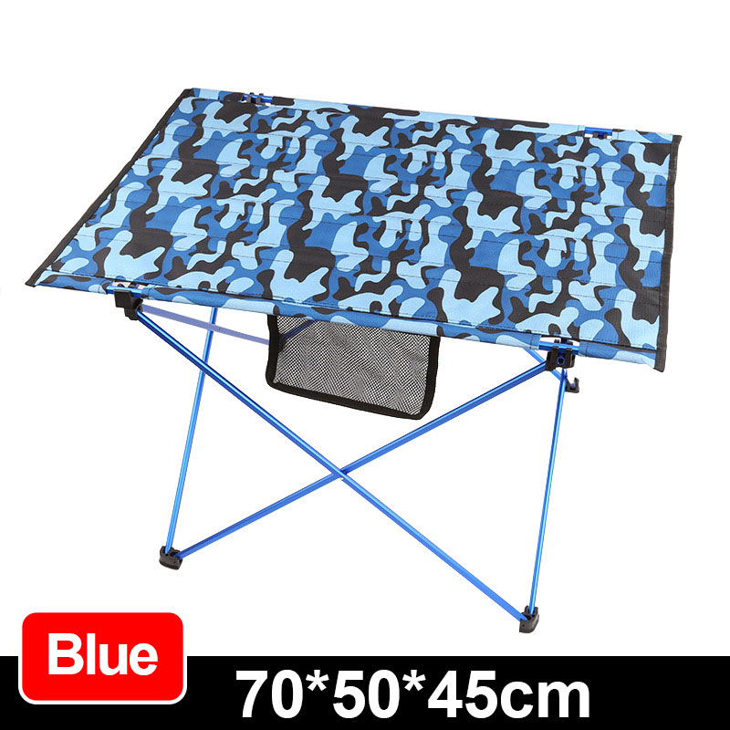 Outdoor Aluminum Camouflage Folding Table Barbecue Picnic Table And Chairs  Camping Portable Beach Folding Table FREE SHIPPING In Outdoor Tables From  ...