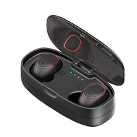HTK18 Plus Business Bluetooth Earphone Wireless 3D Stereo Mini Headphones Headset And Power Bank With Microphone