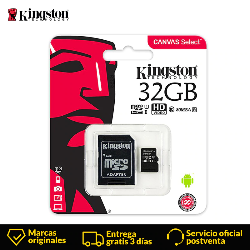 Kingston Technologie Micro SD karte 32 GB MicroSD Speicher Karte Class10 UHS-1 flash karte MicroSDHC TF/SD Karten für smartphone Tablet