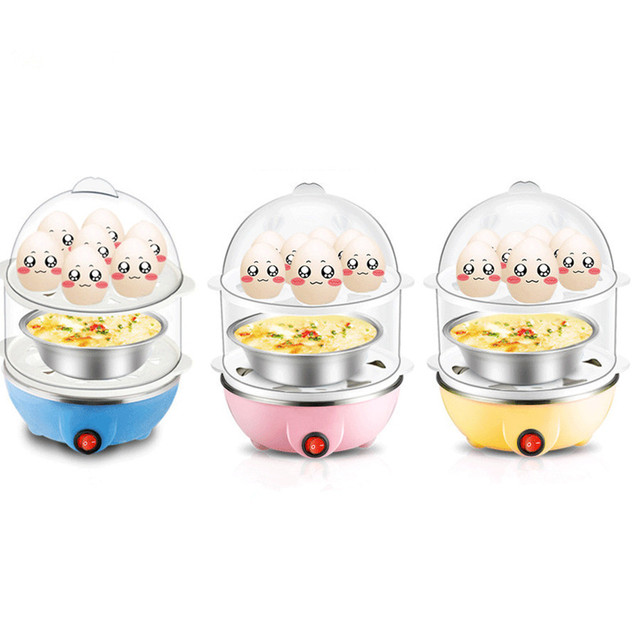 Multi Function Rapid Electric Egg Cooker 14pcs Eggs Capacity Fast ...