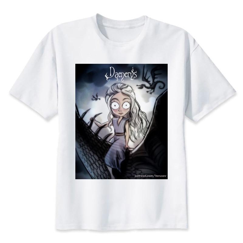 game of throne 2018 women T-Shirt Spring Summer Fitness Hip Hop Short Sleeve T-Shirts women's T Shirt T2935
