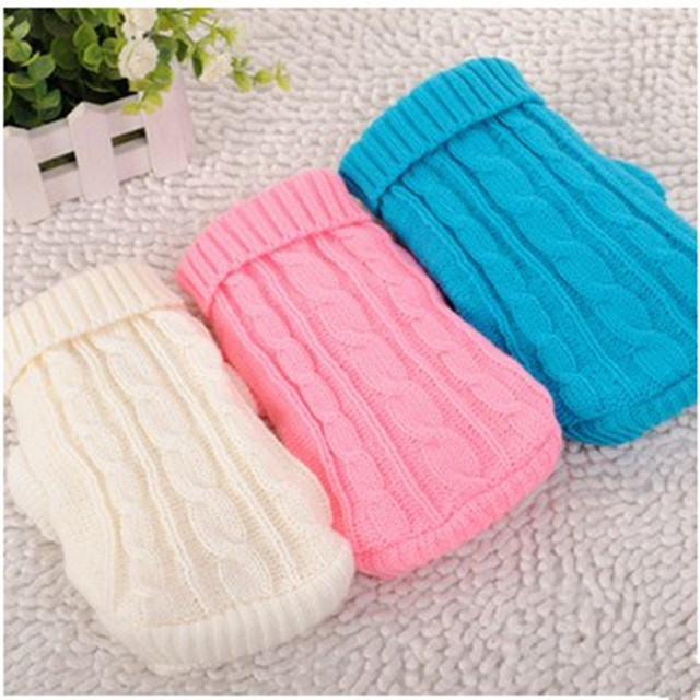 US $5.99 |Lovd Lovf Fashion pet Clothes Warm Dog Clothing Small mini milk money Dog Knit Sweater Christmas Costume For Puppy Chihuahua in Dog Sweaters
