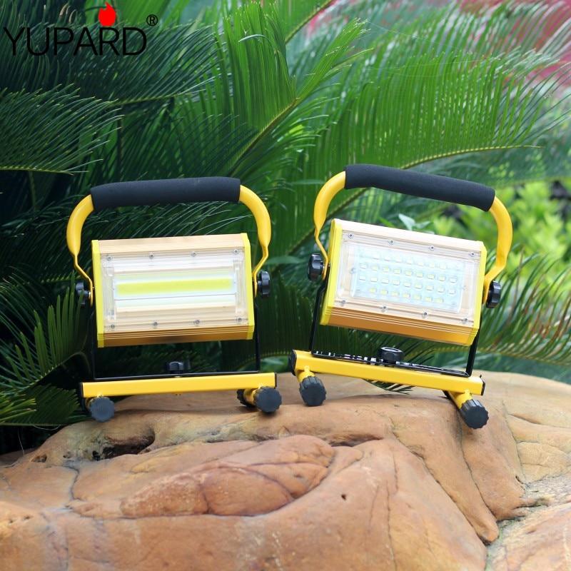 Yupard Portable Camping lumières 100 W LED Camping lanterne tentes lampe en plein air randonnée nuit suspension lampe Rechargeable par 18650