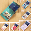 For Huawei Honor 6X Case Cute Girl Cat Cartoon Magnetic PU Leather Flip Cover Coque For