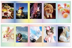 Image 3 - حصة كاميرا فوتوغرافية بولارويد 300 Fujifilm Instax Mini 8 فيلم ورقة معكرون 20 ورقة ل فوجي لحظة صغيرة 9 25 50s 90 SP 1 SP 2