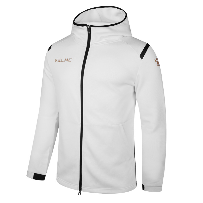 Kelme sports jacket men s tide leisure fashion running jacket training outerwear 3881336
