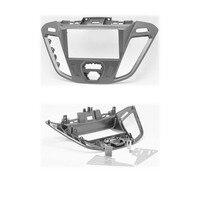Car 2DIN Audio Radio Fascia Plate Panel Frame for 2013 Ford Transit Custom Installation Trim Dash Kit DVD Player GPS Navigation