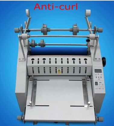 Laminating-Machine Paper-Cutting-Function Hot-Roll With Anti-Curl And 350mm-Length New-Upgrade