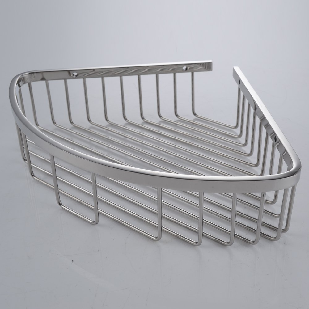 Bathroom Corner Triangular Tub and Shower Caddy Basket SUS304 ...