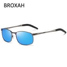 Retro Mens Polarized Sunglasses Men Brand Designer 2019 Metal Driving Sun Glasses for Pilot Lunettes Soleil Homme