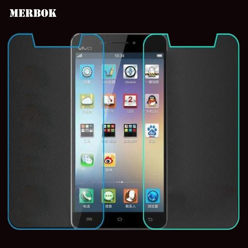2Pcs/Lot 9H 2.5D 5.0 inch Tempered Glass Screen Protector For lenovo Vibe P1m / P 1m / P 1 m Screen Protector Film Wholesale