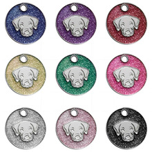Vet Recommended ID  PetTag Dog Personalized Many Shapes and Colors to Choose Tag Puppy Cat Collar Accessory New Arrivel Y8@Z