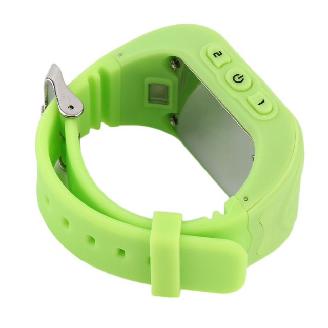 2017 Newest Anti Lost Children Kid  Smart watch GPS Position Rubber Band Wrist Watch Bracelet Electronic Wat For Android For IOS