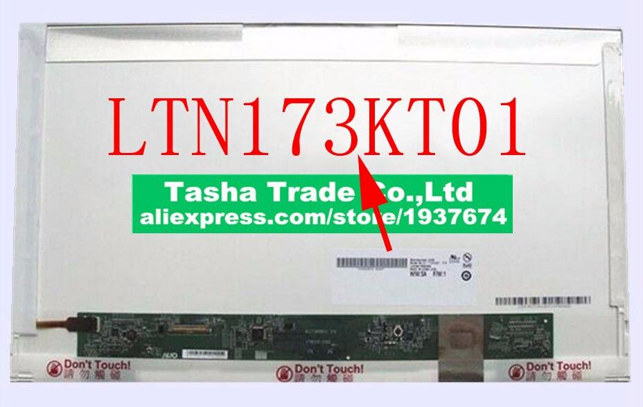 LTN173KT01 HD+ 1600*900 Matrix Laptop LCD Screen Replacement Original NewLTN173KT01 HD+ 1600*900 Matrix Laptop LCD Screen Replacement Original New