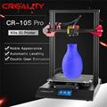 CR-10S Pro de nivelación automática de impresora LCD táctil 4,3 pulgadas reanudar la impresión de detección de función MeanWell poder CREALITY 3D