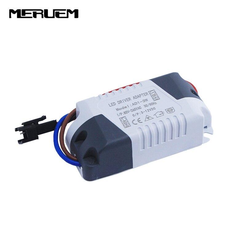 Ingyenes szállítás 6db / tétel 1-3W LED meghajtó, 1W 2W 3W - Világítási kiegészítők