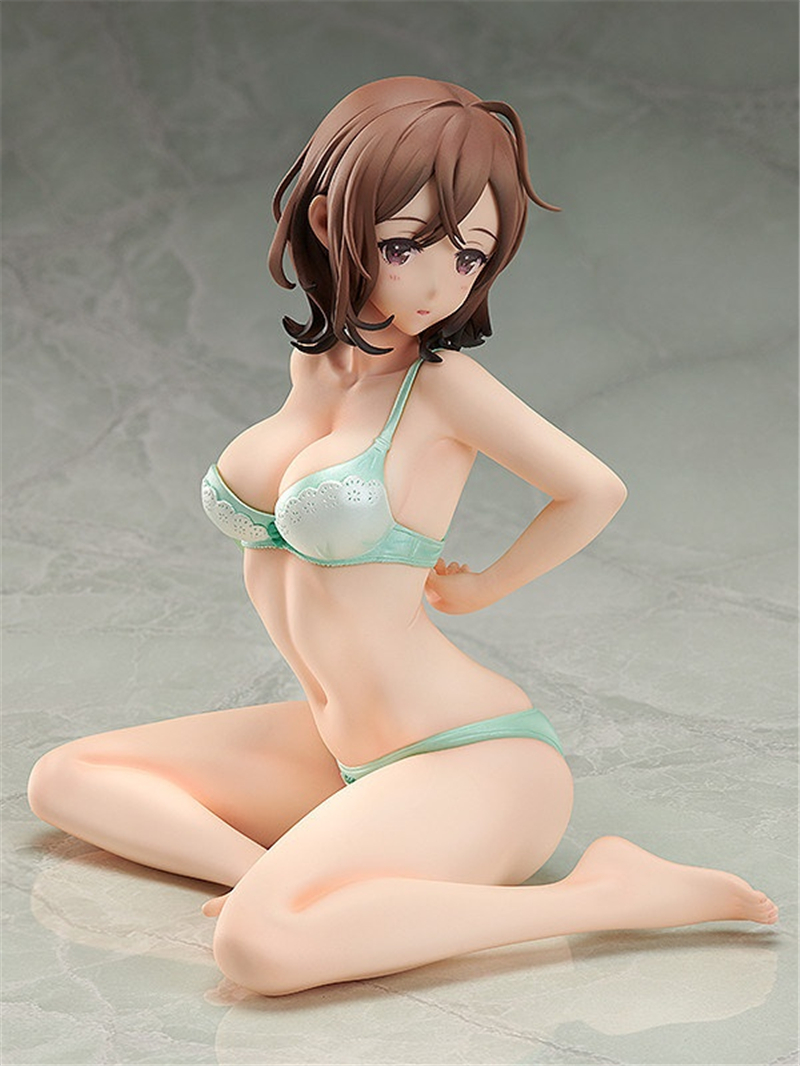 Anime <font><b>Sexy</b></font> Girl Doll Kigae Morning <font><b>1/4</b></font> <font><b>Scale</b></font> Pre-painted PVC Action <font><b>Figure</b></font> Collectible Model Cast Off Adult Toys Juguetes 20cm image