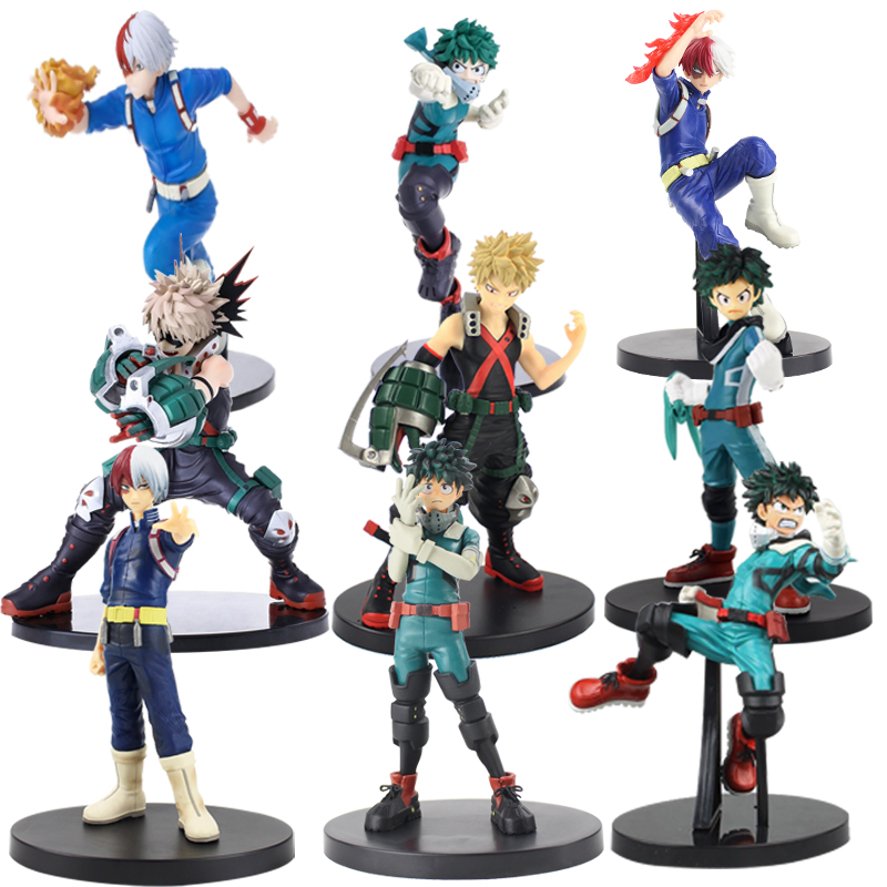 Figures Toy Academia No-Hero Shoto Todoroki Midoriya Izuku All-Might Bakugou Katsuki