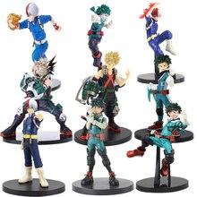 שלי גיבור אקדמיה DXF דמות Shoto Todoroki Midoriya Izuku Bakugou Katsuki Boku לא גיבור אקדמיה כל עלול דמויות צעצוע