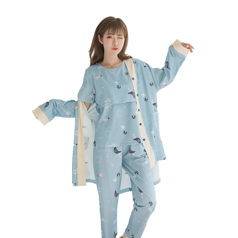 For, Pregnancy, Nightwear, Home, Maternity, Sets