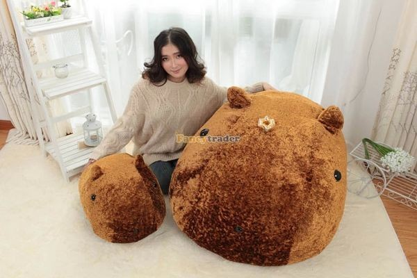 Fancytrader Biggest 41\'\' 105cm Lovely Giant Plush Stuffed Kapibarasan Vole Otters, Free Shipping FT50159 (4)