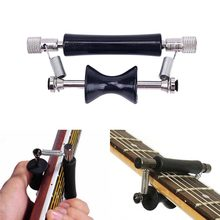 Favor Gmarty 1PC Guitar Rolling Glider Capo for 6-String Guitar Guitar Rolling Capo Black Carbon Steel Facility opportunity
